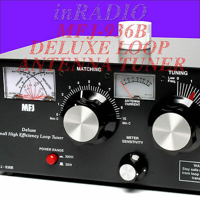 MFJ-936B - 150W LOOP ANTENNA TUNER 5.3-30MHz CURRENT SWR + WORLDWIDE DELIVERY