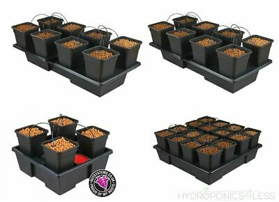 Like IWS Wilma 4 System Hydroponics Self Watering Dripper Grow Complete Kit