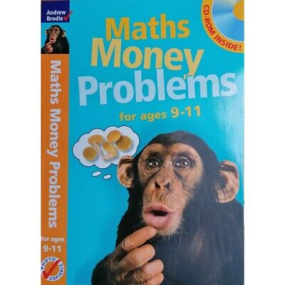 Maths Money Problems 9-11   by Andrew Brodie - Book & CD ROM