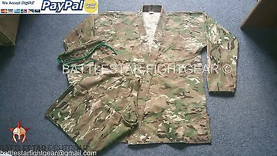 Camouflage Super Light* Ripstop Travel/summer Weight* Bjj Kimono/ Jiu-Jitsu Gi