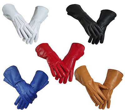Parade, Marching ,Power Ranger, SuperHero Leather Gloves