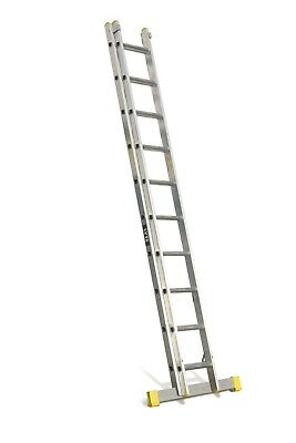 Lyte TRADE Extension Ladders - 2&3 Section |2.4m-10.2m |Pro Trade Leaning Ladder