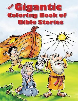 The Gigantic Coloring Book of Bible Stories NEW