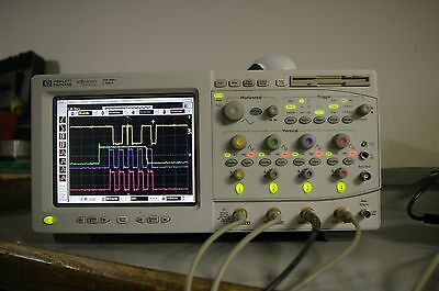 HP 54825A color Digital Oscilloscope 500 MHz 2GSa/s 4 channels DSO Calibrated