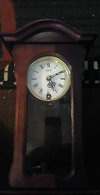 Antique, Pendulum Clock With Hourly And Half Hour Chimes
