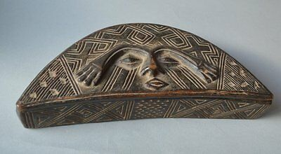 African Tribal Kuba powder box from Congo ex sothebys