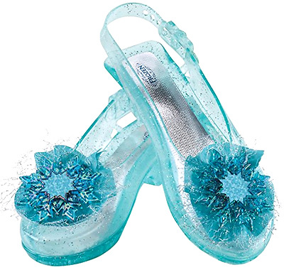 New Disguise Disney's Frozen Elsa Shoes Girls Costume, One Size Child