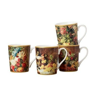 New Casa Domani Masters Van Brussel Mug Set of 4 400ml Gift Boxed