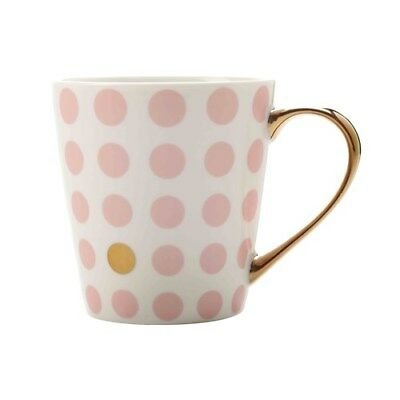 New Maxwell & Williams Aurora Spot Mug 300ml Pink