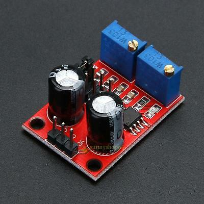 2/5pcs NE555 Pulse Frequency Duty Cycle Adjustable Module Wave Signal Generator