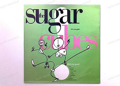 The Sugarcubes - Life's Too Good GER LP 1988 + Innerbag //5