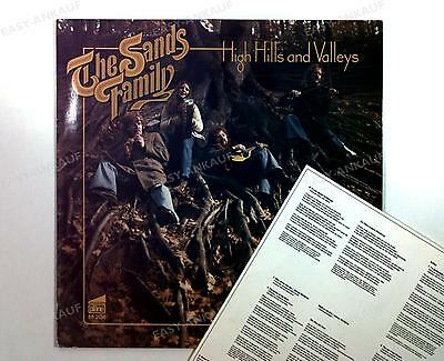 The Sands Family - High Hills And Valleys GER LP 1980 + Insert //1