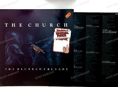 The Church - The Blurred Crusade GER LP 1982 + Innerbag //9