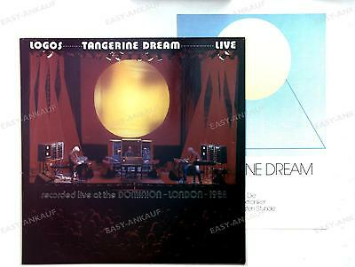 Tangerine Dream-Logos -Live At The Dominion London 1982 GER LP 1982 + Insert //2