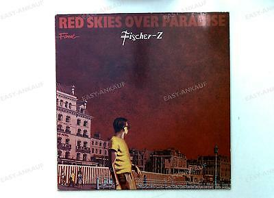 Fischer-Z - Red Skies Over Paradise Europe LP 1984 //29