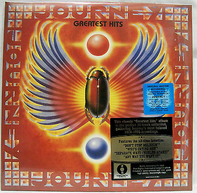 Journey GREATEST HITS 180g Gatefold ESSENTIAL BEST OF New Sealed Vinyl 2 LP