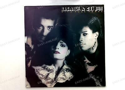 Lisa & Cult Jam With Full Force -  With Full Force UK & EEC LP 1985 + Insert //1