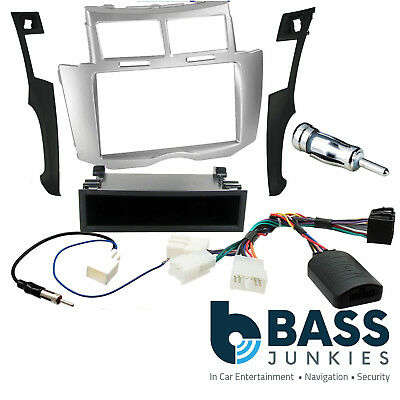 CT24TY04 Car Stereo Fitting Facia Toyota Yaris-Verso 99-05 single Din silver