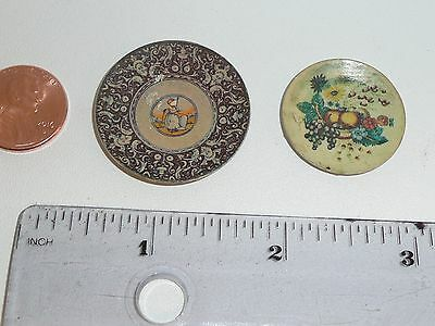 IGMA Ellen Krucker Miniature Doll House Plates, Signed, 1:12 Scale