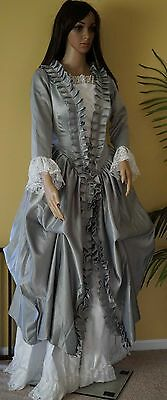 Victorian Renaissance Baroness Prom Ball gown Dress Masquerade Costume in Small
