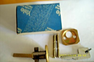Vintage Yale Lock No.1747, Us 4, 5 Pin    Made In Usa.