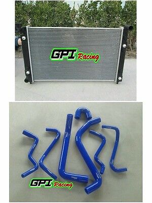 RADIATOR HOLDEN COMMODORE VT (SERIES 1 AND 2) VX V6 AT/MT 2 Oil Cooler + HOSE