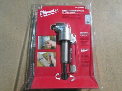 Milwaukee Right Angle Drive Attachment