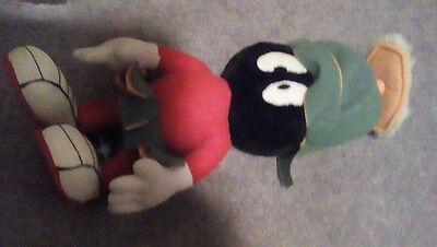 "15"" 1995 Marvin The Martian Looney Tunes Warner Brothers Studio Store Plush"
