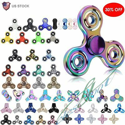 2017 Triple Fidget Spinner Toy 3D Hand Finger Focus Toys -Stress Reliever【US】
