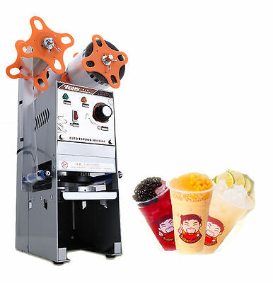 NEW WY-680 Semi-automatic Bubble Tea Cup Sealing machine Juice Cup Sealer 220V A
