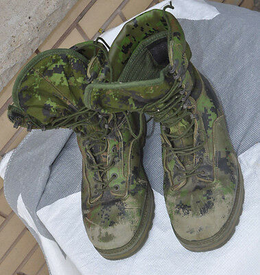 CadPat Camo Gore-Tex Leather Temperate Combat Boots Size Men 10.5 W / XW 275/108