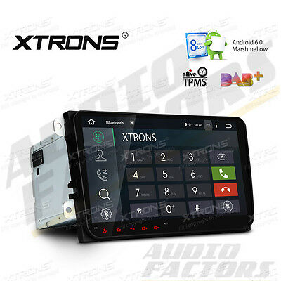 "XTRONS Octa-Core Android 6.0 VW Golf MK5 9"" Car Head Unit Stereo SatNav GPS DAB+"