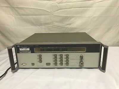 Agilent HP  5351B CW Microwave Counter  10Hz to 26.5GHz