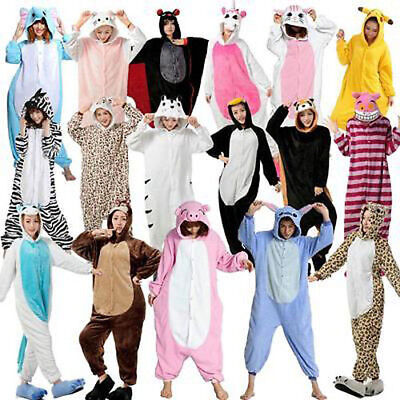 New Adult kigurumi Anime cosplay costume animal Onesie Pyjamas sleepwear Suit