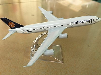 Lufthansa A340 Passenger Airplane Plane Aircraft Metal Diecast Model Collection