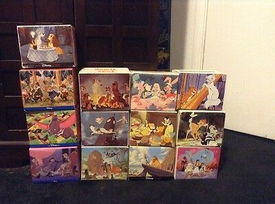 Lot of 13 Vintage Disney Coffee Mugs New in Box 9 JAPAN AND 4 CHINA