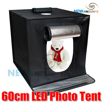 60cm Portable LED Professional Photography Studio Light Box Tent Shooting Kit AU