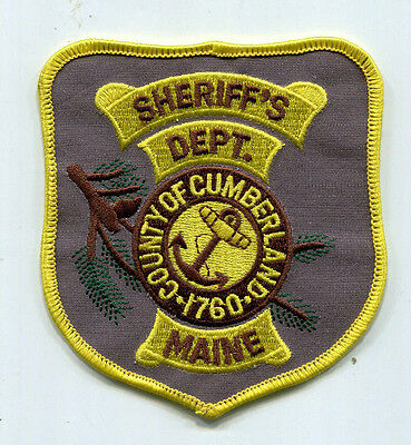 Cumberland County Maine Sheriff's Dept. Patch