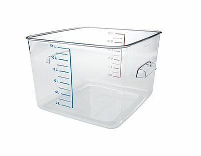 Rubbermaid Commercial Carb-X Space Saving Square Food Storage Container