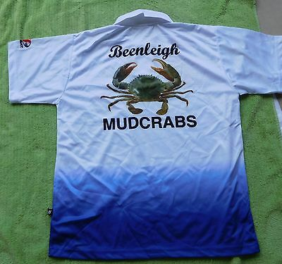 Beenleigh Lawn bowling club (Mudcrabs) shirt size Large  brand new
