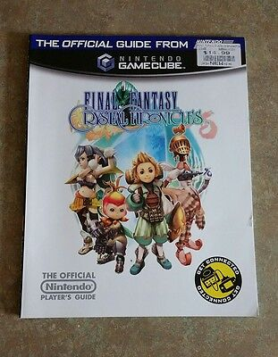 Final Fantasy Crystal Chronicles Official Strategy Guide from Nintendo Power