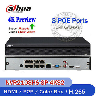 HIKVISION 5MP 4/8/16ch NVR Support 4K Preview 6TB HDD H.265 Onvif for IP Camera