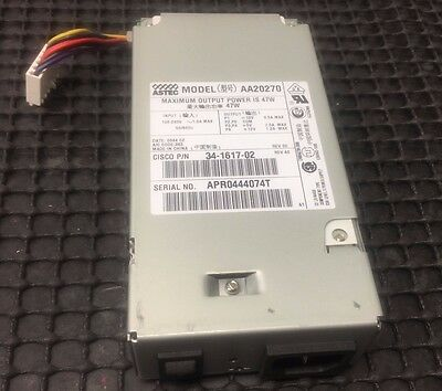 Cisco 34-0850-01 34-1617-02 2600 PIX-515 47W AC Power Supply-Astec AA20270