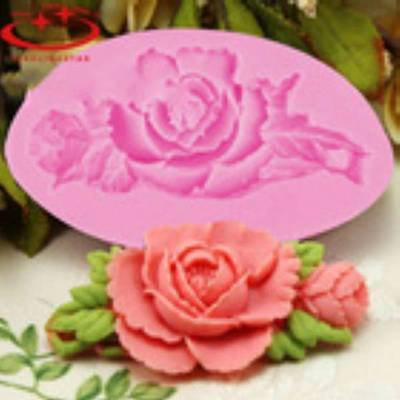 ROSE 3D Silicone Mould Fondant Cake Decorating Topper