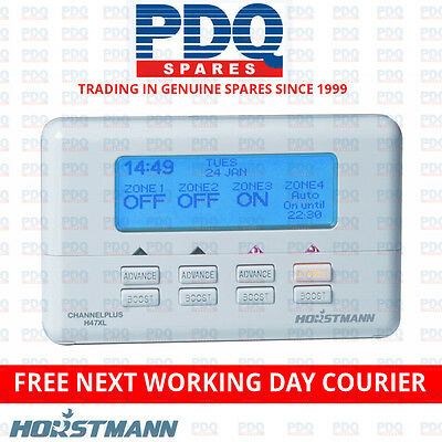 Horstmann ChannelPlus H47XL 4 channel 7 Day Programmer For Zoned Heating Systems
