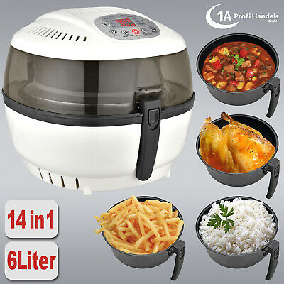 Air Fryer Low Fat Hot Air Digital Multi Cooker Healthy Oil Free Kitchen Electric