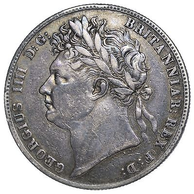 1820 Halfcrown - George Iv British Silver Coin - Nice