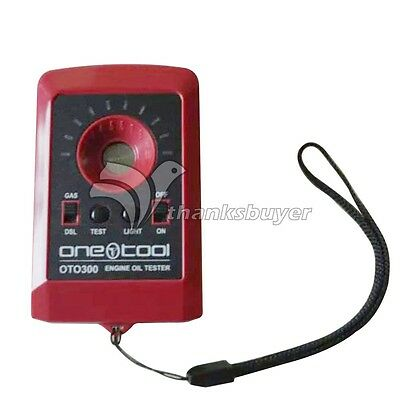OTO300 Motor Engine Oil Quality Detector for Trucks Diesel Four Stroke Tester