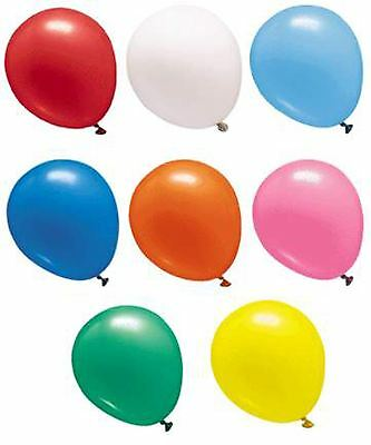 12 Inches Metallic Helium Quality Latex Party Balloons Pack of 25
