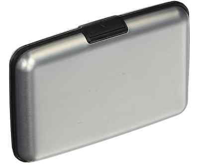 Credit Card and ID Holder  Aluminum with RFID Blocking Men and Women Slim Silver